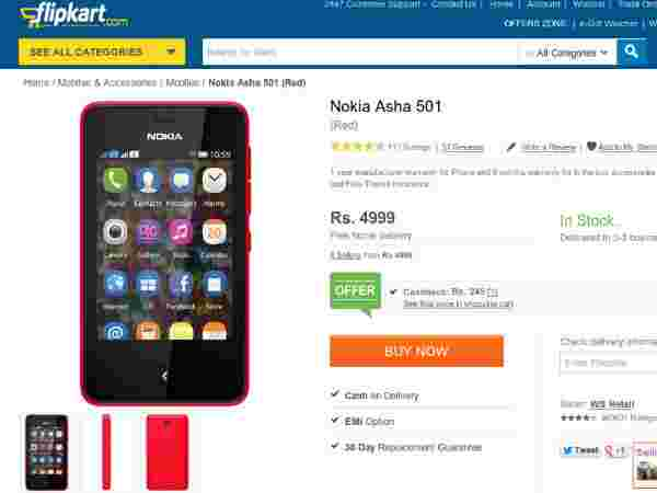 Price At Rs. 4,999