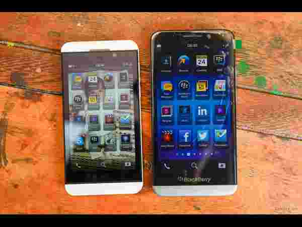 BlackBerry A10 and Z10