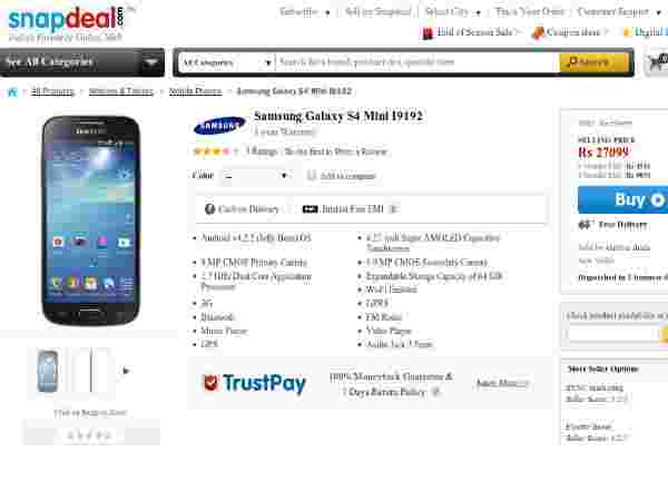 Price At Rs 26,999