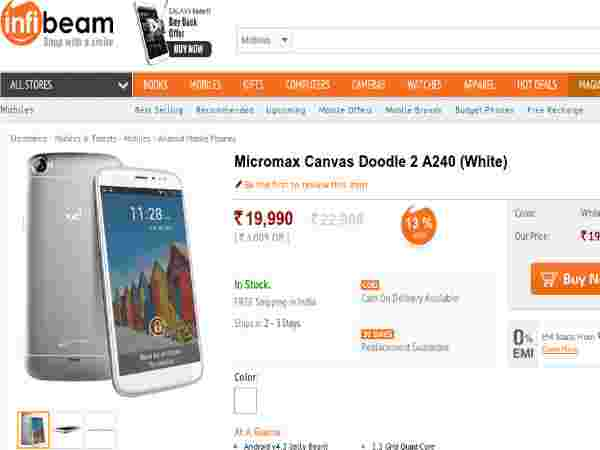 Price At Rs 19,990