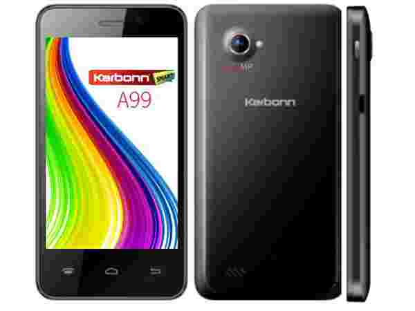 Karbonn A99 specifications