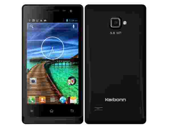 Karbonn A12+ specifications