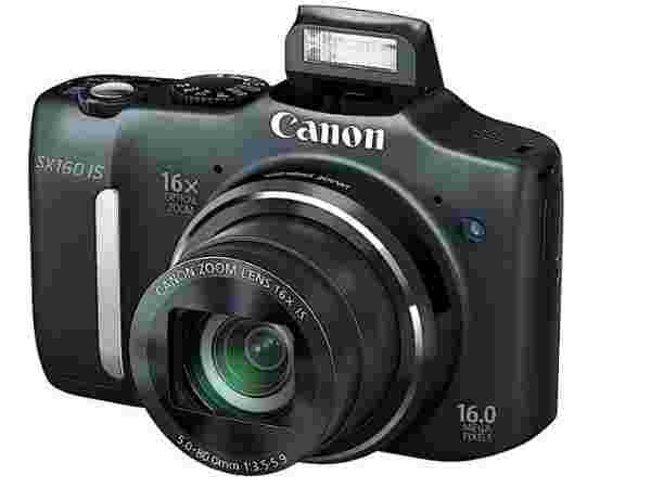Canon PowerShot SX160 IS Point & Shoot: