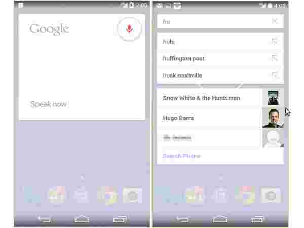 Google Search and Google Now