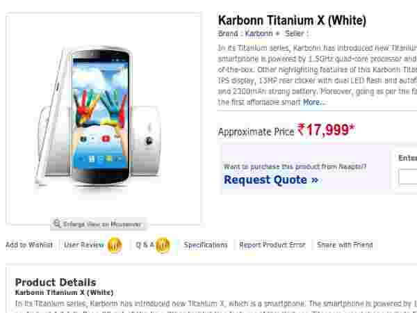Price At Rs 15,999