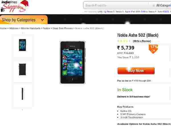Buy At Price Of Rs 5,739 Offer: 17% OFF