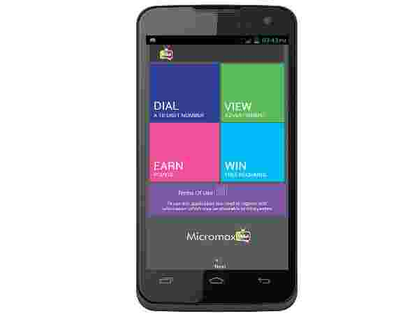 Micromax MAd A94 (Gray):