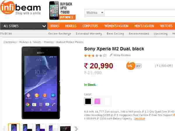 Sony Xperia M2 Dual and Micromax Canvas Doodle 3 Mobiles Now
