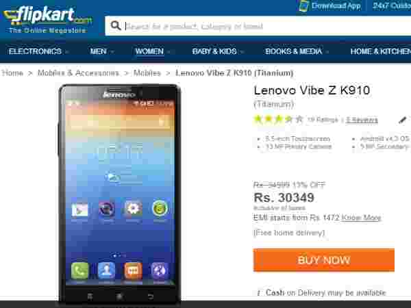 Lenovo Vibe Z and Vibe X to Get Android 4 4 Kitkat: Top 10 Online