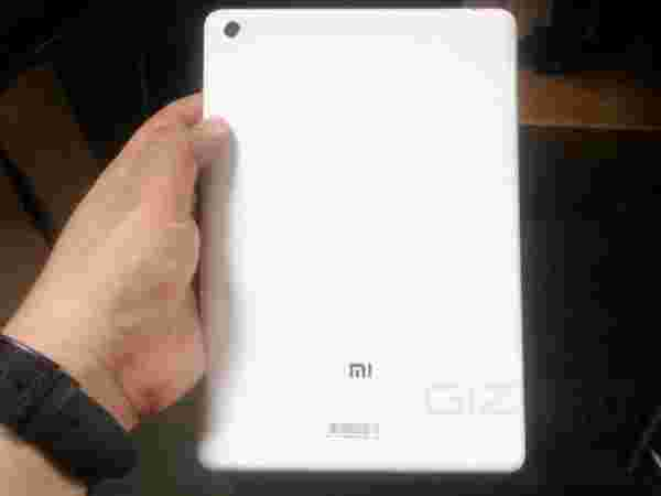 Xiaomi MiPad Features: Impressive Camera