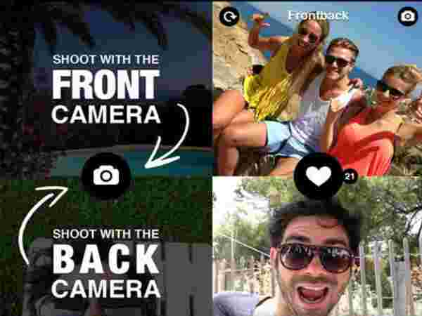 Top Selfie Apps: Dual Cam