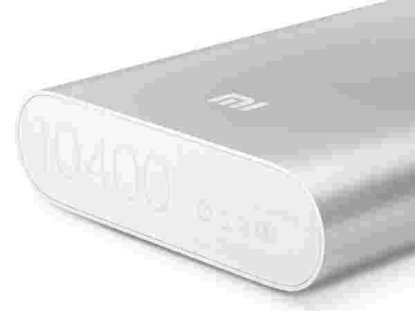 Xiaomi Mi3 Accessories: Mi 10400 mAh Power Bank