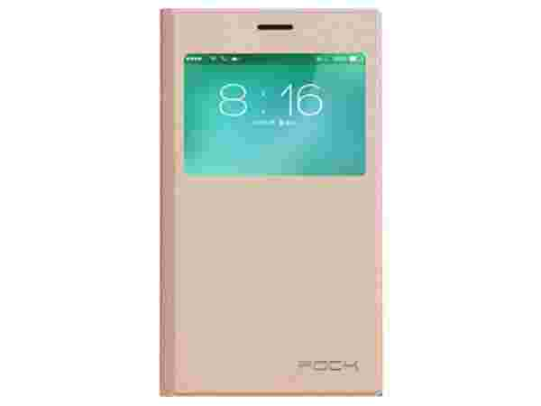 Xiaomi Mi3 Accessories: Rock Flip Cover (Rose Gold)