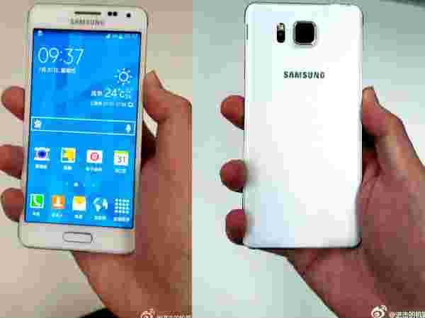 Samsung Galaxy Alpha – Metal Crafted Chassis