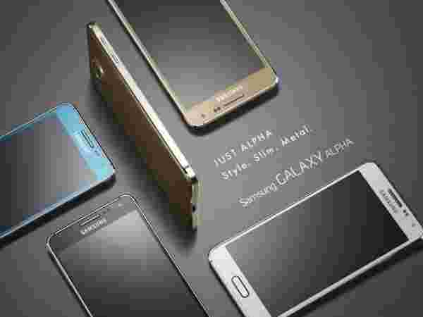 Samsung Galaxy Alpha – Color Variants