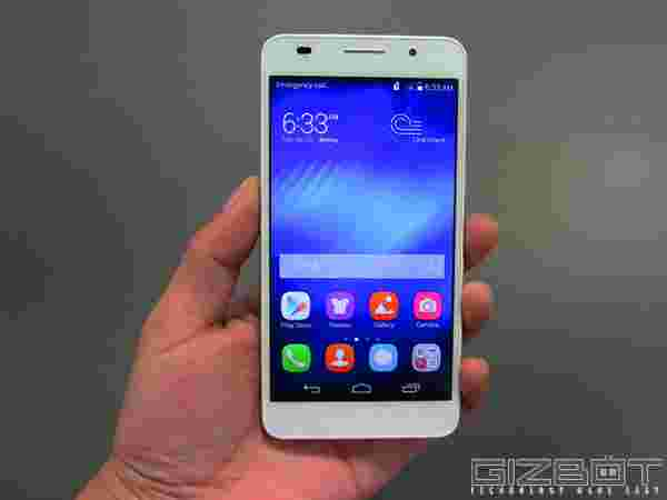 Huawei Honor 6 Available Only in Flipkart