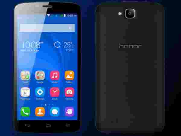 Huawei Honor Holly(Black/White) Variant at Just Rs.5,999 Only