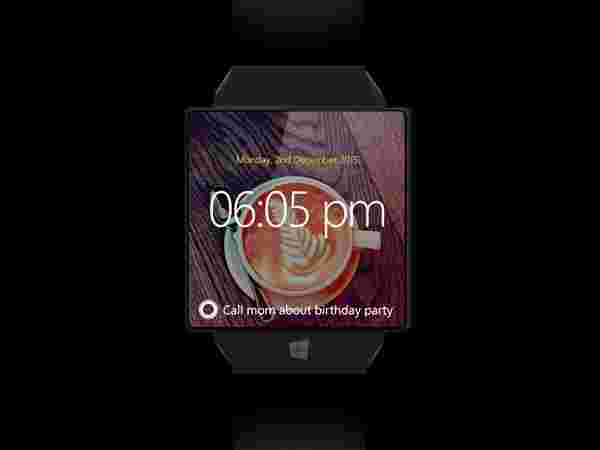 Microsoft Windows Watch – Design