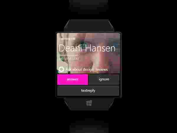 Microsoft Windows Watch – UI