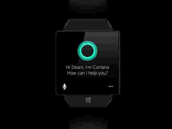 Microsoft Windows Watch – Cortana