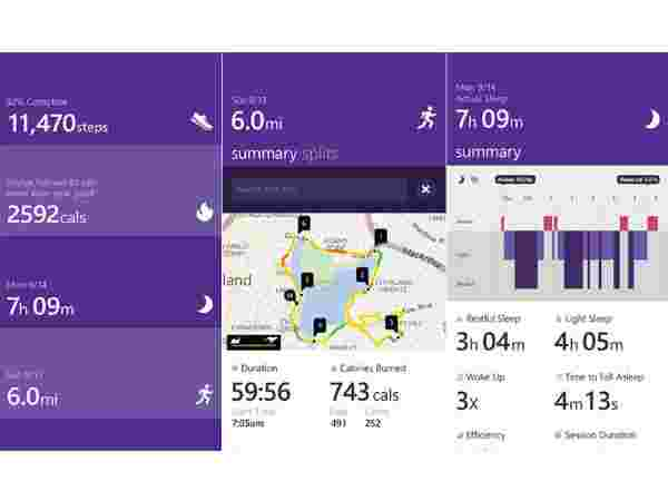 Microsoft Band- Display