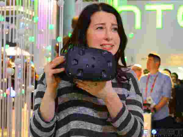 HTC Re Vive Hands-On