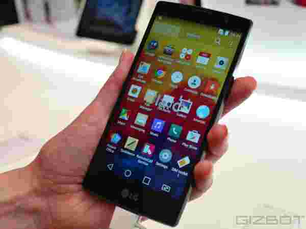 LG Magna first look