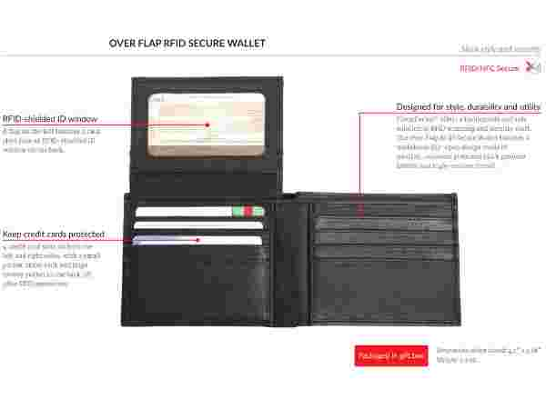 Silent Pocket RFID blockers