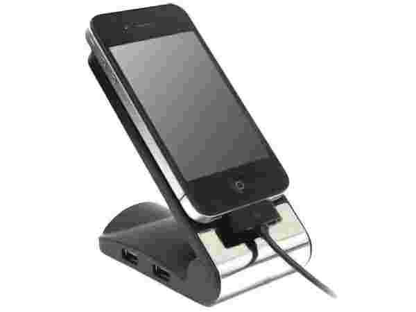 Mobile Phone Holder and USB Hub