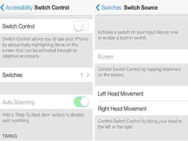 Control Your iPhone by Moving Your Head