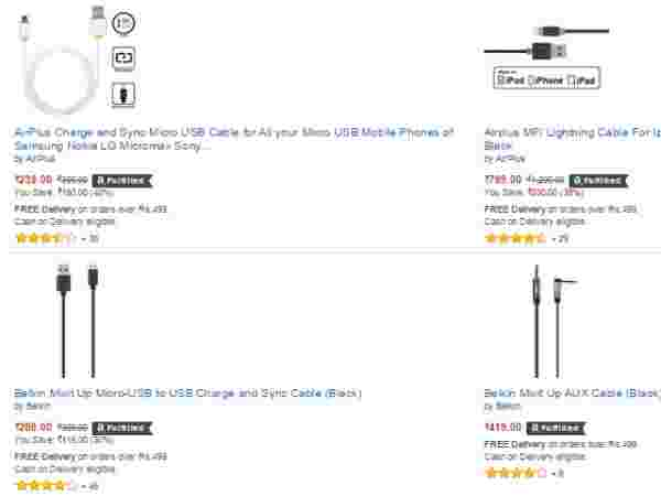 UPTO 40% OFF ON CABLES