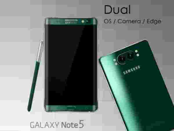 Samsung Galaxy Note 5: Dual Curved Sides & Camera