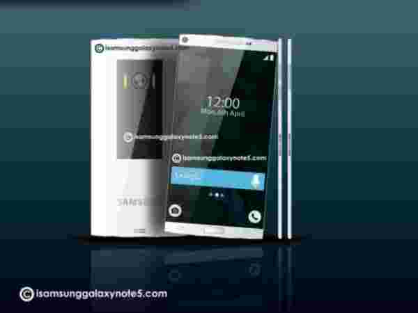 Samsung Galaxy Note 5: Glass Back