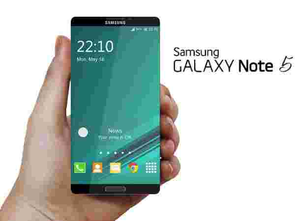 Samsung Galaxy Note 5: Edge-to-Edge to Display