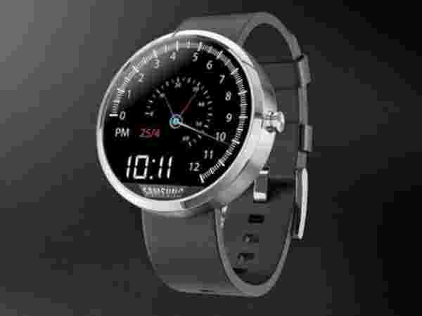 Samsung Gear A: Rounded Dial