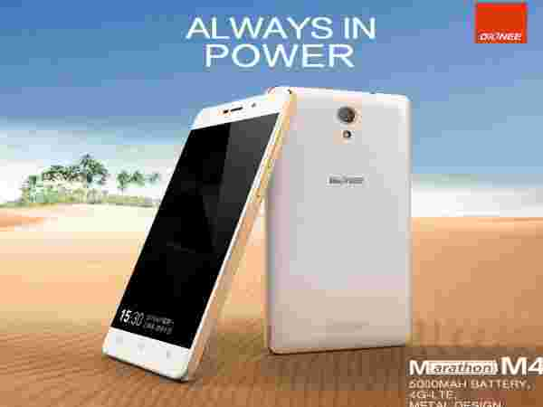 Gionee Marathon M4 Powered with 2GB RAM
