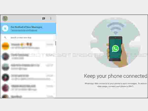 WhatsApp Web Client