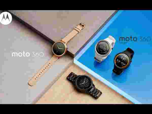 Lenovo Moto 360/Moto 360 Sport: Announced At IFA 2015