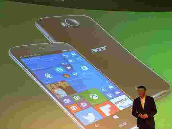 Acer Jade Primo: Specifications