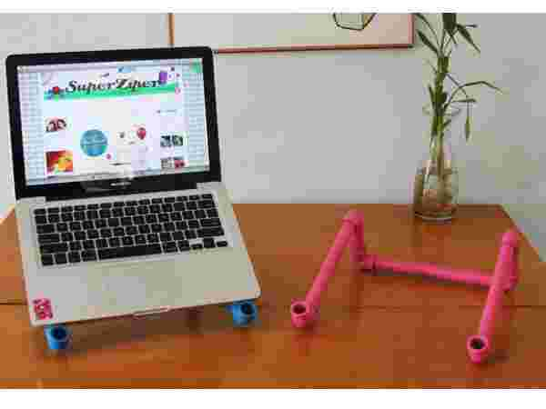 PVC Pipe For Laptop Stand