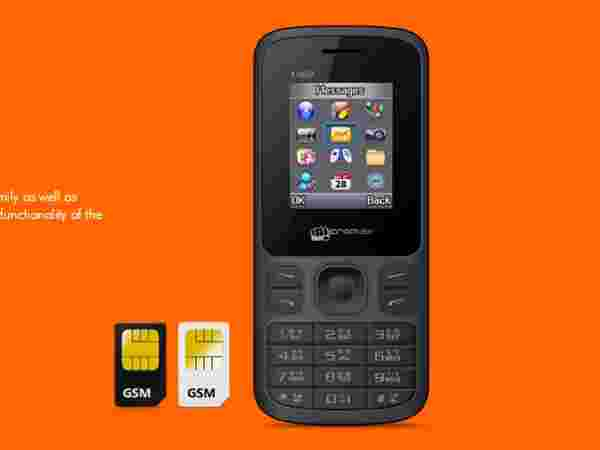 Micromax X1850 (Black) at Rs.869 Only
