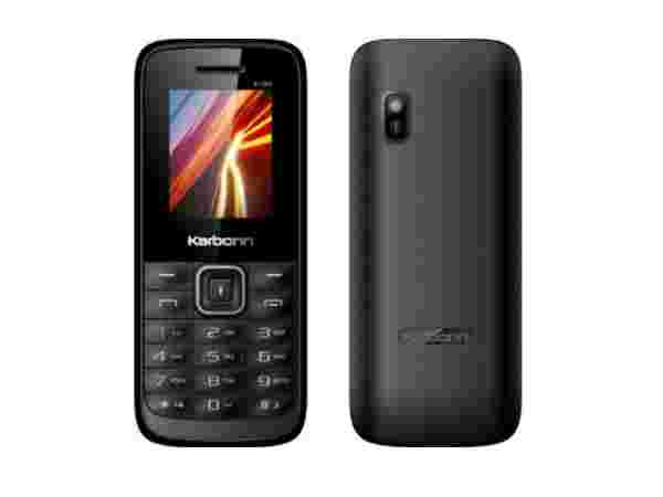 Karbonn K105s (Black + Red) at just Rs.799
