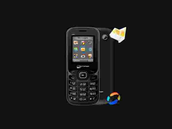 Micromax X088 (Black-Silver) at just Rs.949 Only