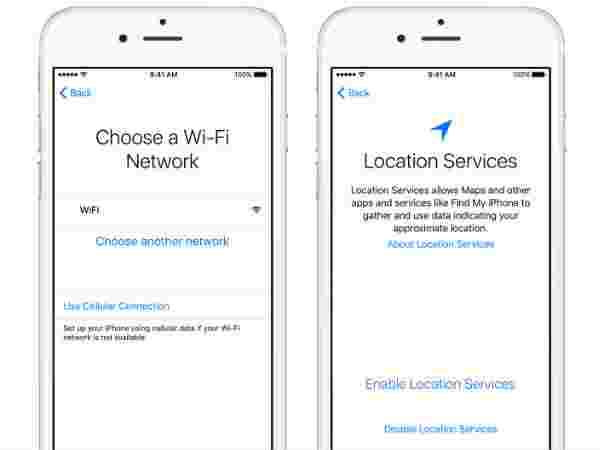 Choose Location Services