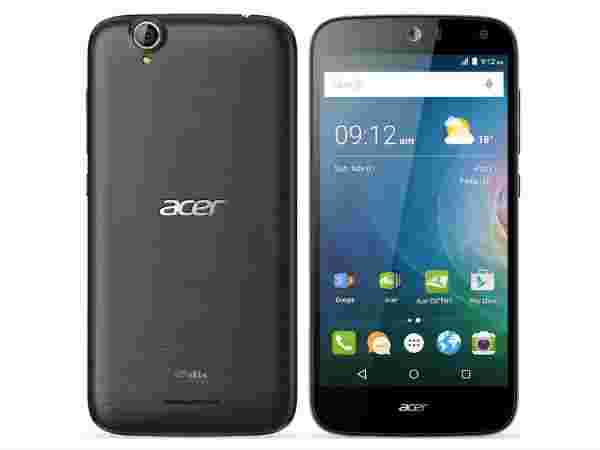 Acer Liquid Z630s vs Micromax Canvas 5: Display