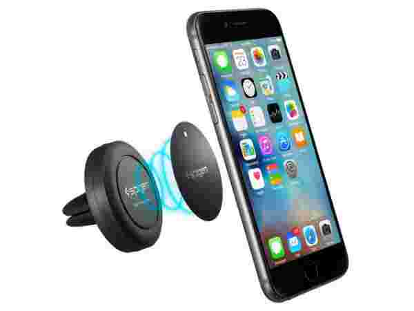 Spigen Air Vent Magnetic Universal Car Mount Holder for  iPhone 6s, 6s Plus