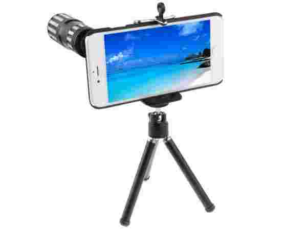 Crazy4Gadget 12 X Mobile Telephoto Lens