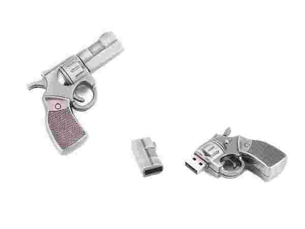 Metal Gun Flash Drive