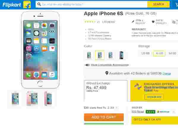 Buy At Price of Rs 47,499 (Offer: Check for exchange offers on the Flipkart App)