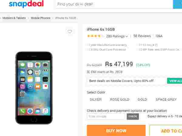 Buy At Price of Rs 47,199 (Offer: Exchange Your Old Device)